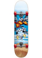 Speed Demons FMX2 Youth Complete - Blue - 7.6 - Complete Skateboard