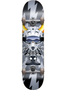 Speed Demons Supercross Youth Complete - Black/Silver - 7.6 - Complete Skateboard