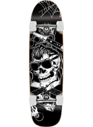 Speed Demons Greaser Cruiser - Black/White - 31 - Complete Skateboard