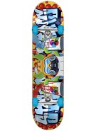 Speed Demons Tagger V2.0 Youth Brigade Mid - Blue - 7.4 - Youth Complete Skateboard