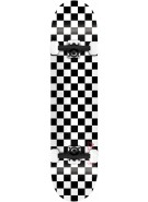 Speed Demons Checkerboard PP - Black/White - 7.5 - Complete Skateboard