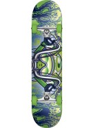 Speed Demons Chopper V2.0 - Green/Blue - 7.5 - Complete Skateboard