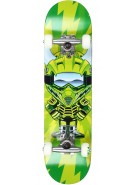 Speed Demons Supercross Youth Brigade - Green - 7.0 - Complete Skateboard