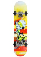 Speed Demons FMX Youth Brigade Micro - Yellow/Red - 6.75 - Complete Skateboard