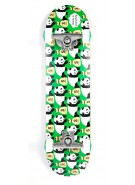 Enjoi Moneybags Complete - Complete Skateboard - Green - Full 7.9