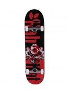 Habitat Coat of Arms - Black/Red - 7.75 - Complete Skateboard
