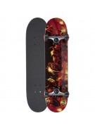 Darkstar Eternal Fight Complete Youth FP - Red - 7.3 - Complete Skateboard