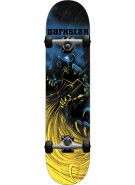 Darkstar Tempest First Push - Blue/Yellow - 7.8 - Complete Skateboard