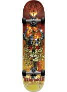 Darkstar Force First Push - Red - 7.8 - Complete Skateboard