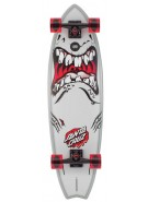 Santa Cruz Rob Shark Cruzer - 10in x 36in - Complete Skateboard