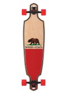 Santa Cruz Republic Drop Thru Cruzer - 9.6in x 37.8in - Complete Skateboard