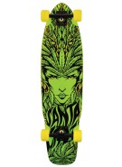 Santa Cruz Goddess Cruzer - Green - 9.3in x 36in - Complete Skateboard