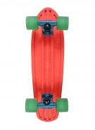 Globe Bantam Mash Ups - Orange/Horizon/Clear Green - Mini Cruiser 7x24 - Complete Skateboard