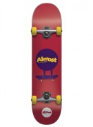 Almost Mo Man - Red/Purple - 7.6 - Complete Skateboard