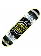 Santa Cruz Rob Dot Powerply - Black/White - 31.4 x 7.7 - Complete Skateboard