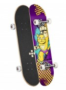 Positiv Jones Monster - Purple - 7.5 - Complete Skateboard
