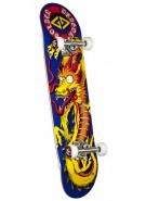 Powell Golden Dragon - Caballero Art - 8 - Complete Skateboard