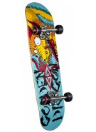 Powell Golden Dragon Mini - Caballero Art - 7.5 - Complete Skateboard