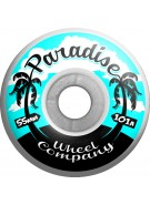 Paradise Wheels Palms - 55mm - Skateboard Wheels