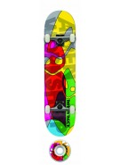 Alien Workshop Rob Dyrdek Ghost Mini - 7.37 - Complete Skateboard