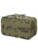 BT Zipper Pouch Paintball Harness - Woodland Digi