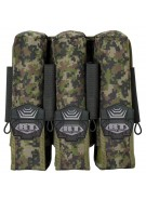 BT 3+4 Pod Pouch Paintball Harness - Woodland Digi Camo