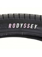 Odyssey Aaron Ross Dual Ply - 20 in. x 2.10 in. - Black / Black - Tire