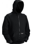 Dye 2010 Covert Zip Up Hooded Sweatshirt - Black