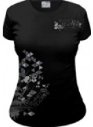 Planet Eclipse Women's Shapes T-Shirt - Black