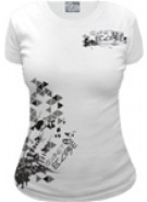 Planet Eclipse Women's Shapes T-Shirt - White