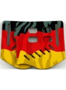 Stinger Paintball Designs Custom Soft Ears - German Flag