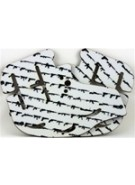 Stinger Paintball Designs Custom Soft Ears - Guns - Black on White