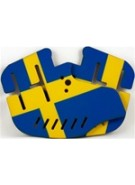 Stinger Paintball Designs Custom Soft Ears - Sweden Flag