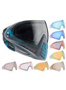 Dye Invision Goggle I4 Pro Mask w/ Additional Mirror Lens - Atlas Blue