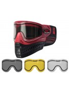 Empire E-Flex Paintball Mask w/ Free Thermal Lens - Red