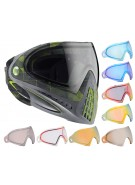 Dye Invision Goggle I4 Pro Mask w/ Additional Mirror Lens - Atlas Lime