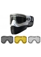 Empire E-Flex Paintball Mask w/ Free Thermal Lens - White