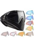 Dye Invision Goggle I4 Pro Mask w/ Additional Mirror Lens - Black