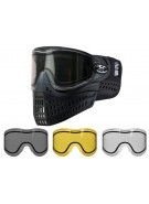 Empire E-Flex Paintball Mask w/ Free Thermal Lens - Black