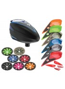 Dye Rotor Paintball Loader w/ Quick Feed & Color Kit - Blue
