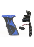 The Seventh Element Pathfinder OLED Board - DM Ultralite w/ Blue Grips
