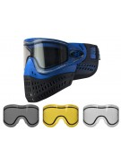 Empire E-Flex Paintball Mask w/ Free Thermal Lens - Blue
