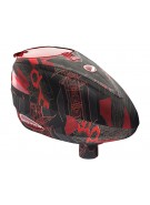 2013 Dye Rotor Paintball Loader - Cubix Red