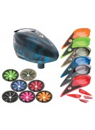 Dye Rotor Paintball Loader w/ Quick Feed & Color Kit - Atlas Blue