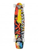 LAX Graffiti II - 9.5 in. x 40 in. - Complete Skateboard