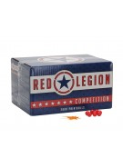 Red Legion Paintballs Case 100 Rounds - Orange Fill