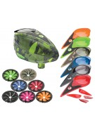 Dye Rotor Paintball Loader w/ Quick Feed & Color Kit - Atlas Lime