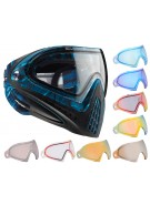 Dye Invision Goggle I4 Pro Mask w/ Additional Mirror Lens - Blue Cloth