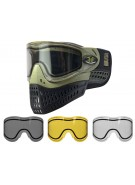Empire E-Flex Paintball Mask w/ Free Thermal Lens - Olive