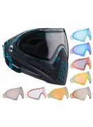 Dye Invision Goggle I4 Pro Mask w/ Additional Mirror Lens - Cubix Cyan